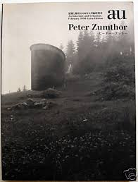 peter zumthor book