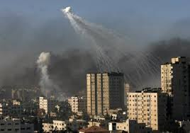 bombs in gaza