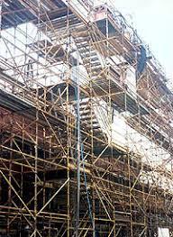 pole scaffolding
