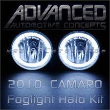 camaro fog lights
