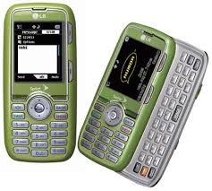 lime green phone