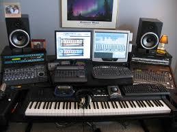 midi studio setup