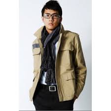 mens cotton coat