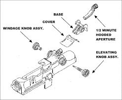 m14 rear sight
