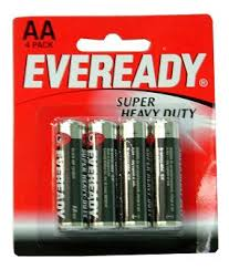 eveready aa batteries