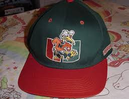 miami hurricanes caps