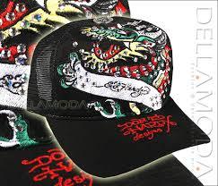 black ed hardy hat