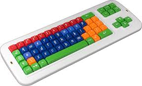 coloured keyboards