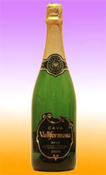 bottle of cava