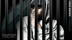 chris brown in jail pictures