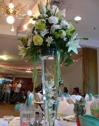 reception floral centerpieces
