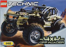 lego 4x4 off roader