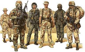 desert uniforms