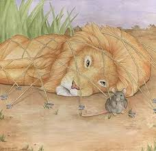 lion and the mouse story