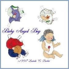 baby paper dolls