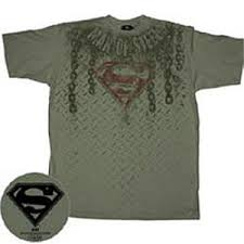 black superman tshirt