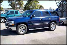 chevy tahoe 2001