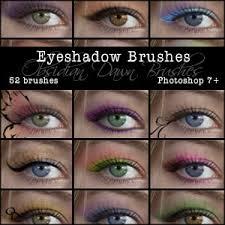 eye shadow applications