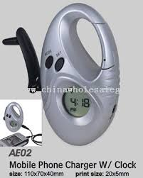 mobile phone clock