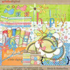 digital scrapbook elements