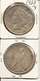 1922 peace dollars