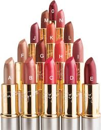 shades of lipsticks