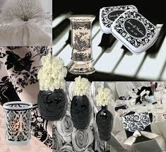 black and white wedding centerpiece ideas