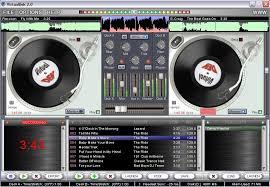 dj mixing studio