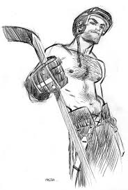 hockey drawings