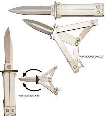 paratrooper knife