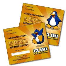 membership club penguin