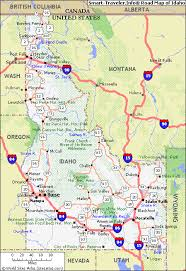 idaho road map