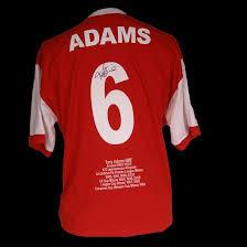 arsenal signed shirts