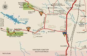map ayers rock