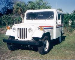 jeep mail truck