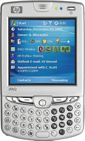 hp touch phone