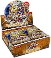 raging battle booster pack