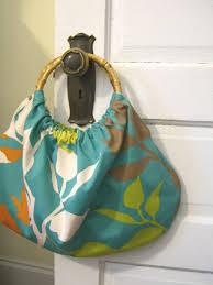 bamboo handle purse