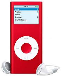ipod nano 2nd generation red