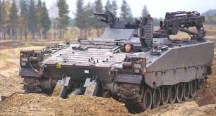 armored recovery vehicle