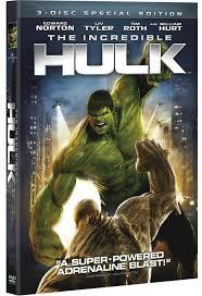 incredible hulk dvds
