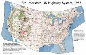 highway maps of us