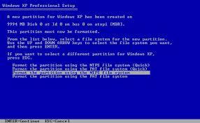 instalacion windows xp