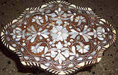 mother of pearl inlaid furniture