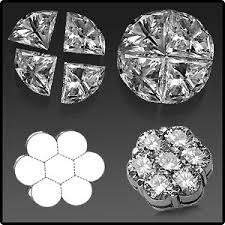 invisible diamond settings