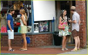 gossip girls set