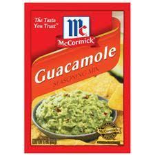 guacamole seasoning