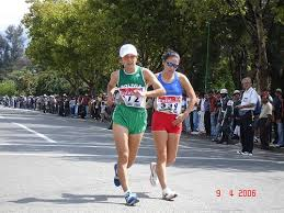 la marcha atletica