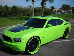 lime green cars
