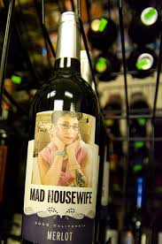 funny wine label